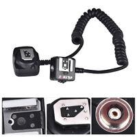 Viltrox TTL Off-Camera Flash Hot Shoe Sync Stretchy Cord Cable For Nikon Camera