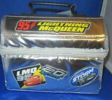 DISNEY CARS MOVIE LIGHTNING McQUEEN LUNCHBOX (BAG)DISNEY STORE GENUINE AUTHENTIC