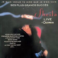 Sheila CD Je Suis Venue Te Dire Que Je M'En Vais - Ses Plus Grands Succès