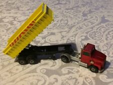 Vintage 1973 Matchbox Super Kings K-18 Ford LTS Articulated Tipper Truck