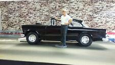 1/24 1955 Chevy American Graffiti Driver Figure Unfinish Primer Custom Made