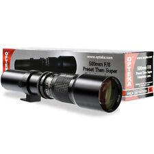 Opteka 500mm/1000mm Telephoto Lens For Pentax K-5 K-01 K-70 K-50 K-x K-1 K10 K-3