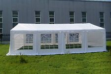 16 x 26 Wedding Outdoor  Party Car Shelter Tent Canopy Gazebo Pavilion White