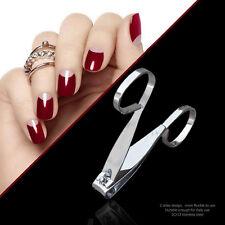 Nail Art Cuticle Nipper Cutter Clipper Manicure Pedicure Stainless Steel Tools #