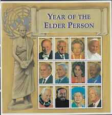 GUYANA:1999 Year of the Older Person sheetlet(2) +MS SG5607-24+MS5625 MNH