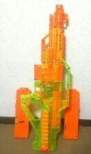 Nerf STAMPEDE ECS Sonic Green Series Full Auto Dart Blaster w/ Two 18 Round Mags