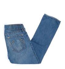 True Religion Jeans Hose W 31 / L  34 Mittelblau Blau 31/34  -Z2653