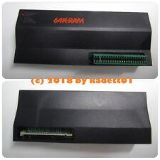 Sinclair ZX80 ZX81 + 1000 de Timex, expansión de memoria RAM de 64 K, extremo, raro, nuevo
