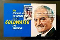 US 1249 Vote Goldwater President Election Polls Freedom Conservative Rights FDC