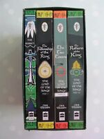 LORD OF THE RINGS TRILOGY AND THE HOBBIT BY JRR TOLKIEN  BOX SET