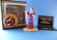 "Figurine TINTIN ""Les aventures de Tintin"" Bianca Castafiore - Carrefour market"