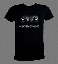 Game of Thrones Winter is Coming wolf's eyes T-shirt (various sizes available)