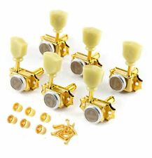 Gotoh SD90-MG-T Magnum Lock Vintage Style Locking Tuners for Gibson 3x3 GOLD