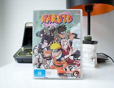 NARUTO, VOLUME 6: THE CHUNIN EXAMS (UNCUT) | DVD | AUS STORE | SAME DAY POST
