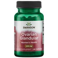Raw Ovarian Glandular 250 mg 60 Caps