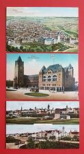 3 x AK POSEN 1916 Schloss mit Strassenbahn und Stadtansichten   ( 34812