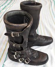 Vintage Sidi Motorcycle leather boots Joel Robert motocross Size 42? UK9? US9.5?