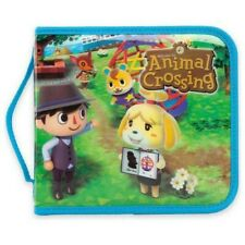 PowerA Animal Crossing Nintendo DS Folio Case Full-Zip Enclosure Felt Lining NEW