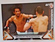 """2016 TOPPS UFC KNOCKOUT BENSON HENDERSON """"WELTERWEIGHT"""" 5X7 WALL ART #/49 #35"""