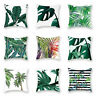 "18""*18"" Pillow Case Garden Covers Cushion Decoration Home Leaf Outdoor Floral"