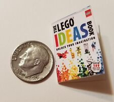 "Miniature Dollhouse Legos Toys Action Figure  book Barbie 1/12 Scale  1""  Ideas"