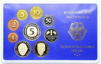 BRD Bundesrepublik - DM KMS Kursmünzensatz 1989 D - München - Spiegelglanz PP