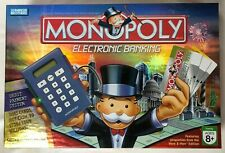 Monopoly Electronic Banking Board Game 2007 Complete & Working Parker Brothers