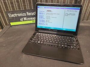 Samsung NP900X3A Laptop Parts/Repair BOOTS Core i5-2476M 4GB RAM **bad HDD