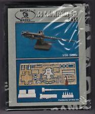 ROYAL MODEL 211 - .50 Cal. MACHINE GUN - 1/35 RESIN KIT