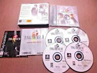 Sony PlayStation 1 PS1 PSOne CIB Complete Tested Final Fantasy VIII FF8 Ships Fa