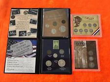 (4) Different USA Obsolete Silver Coin Sets