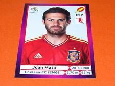 301 JUAN MATA CHELSEA ESPAGNE ESPAÑA  FOOTBALL PANINI UEFA EURO 2012