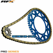 DID 520 Gold/Black MX Race Chain RFX Pro Sprocket Kit Yamaha YZ125 05-17 13T/48T