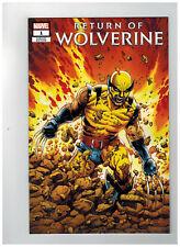 RETURN OF WOLVERINE #1  1st Printing - Original Costume Variant    / 2018 Marvel