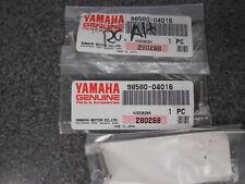 NOS Yamaha Pan Head Screws 86 SRX600 86 87 TT225 TT350 Trailway 98580-04016 QTY3