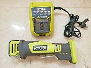 Ryobi CR120L Compact Reciprocating Saw and 140503001 12v Li-ion Battery Charger