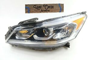 OEM 2016-2017 Honda Accord SEDAN Halogen Headlight LED Headlight (Left/Driver)