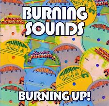 VARIOUS - BURNING UP! (4CD) BURNING SOUNDS Wie Neu