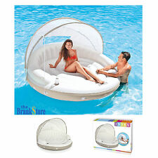 Inflatable Float Lounge Floating Pool Lounger Island Party River Swim Floater