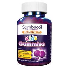 Sambucol Immunity Kids Gummies x50 Support Child's Immune System EXP:2019/02