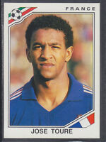 Panini - Mexico 86 World Cup - # 178 Jose Toure - France