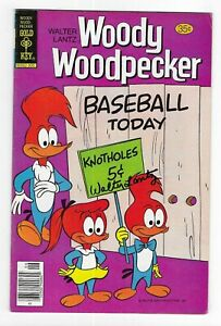 Woody Woodpecker AUTOGRAPHED #167 GOLD KEY COMIC BOOK Walter Lantz HAND SIGNED