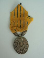 Romania Kingdom 20 Year Military Service Badge Medal. With Ribbon! Rare!