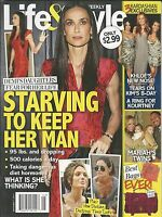 Life And Style Magazine Demi Moore Star Diets The Kardashians Mariah Carey 2011