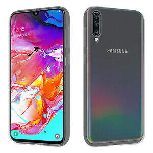 HSP Handy Hülle für Samsung Galaxy A70 | Silikon Schutz Cover Case TPU Slim Soft