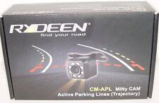 Rydeen CM-APL Back up Camera Active Trajectory Parking Lines  Night Vision 8 led