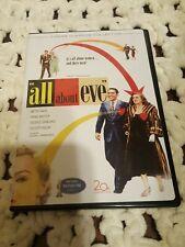 All About Eve 2 Disc Dvd -Bette Davis -Slim Case-Region 1-Full Frame-*Read Below