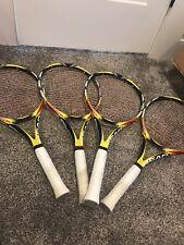 "4 head Extreme MP Microgel tennis racquet 4 3/8"" 107 Sq In Heads Hybrid Strings"