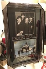 "New Beatles Fab Four Debut (Matted & Framed) Picture (24"" x 33"") Valued at $400"
