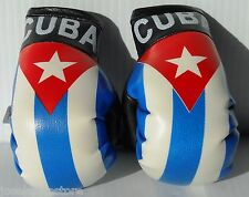 "Cuba Mini Boxing Gloves 2.5"" x 3"" Hang em Anywhere These are the best!"